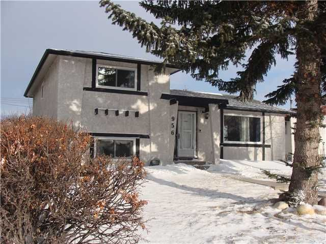 Main Photo: 956 MARPOLE Road NE in CALGARY: Marlborough Residential Detached Single Family for sale (Calgary)  : MLS®# C3595046