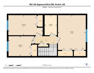 Photo 32: 802 140 Sagewood Boulevard SW: Airdrie Row/Townhouse for sale : MLS®# A1114716