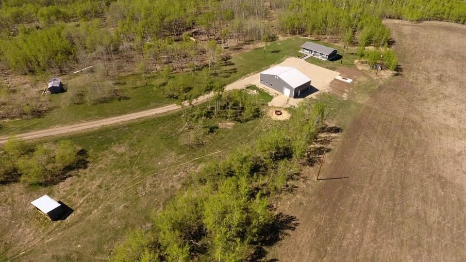 The homestead with plenty of privacy, pasture, and hayland...All ready for your horses or cattle.