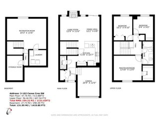 Photo 23: 2 102 Canoe Square SW: Airdrie Row/Townhouse for sale : MLS®# A1096598