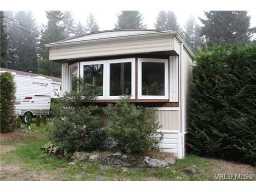 Main Photo: 1 3640 Trans Canada Hwy in COBBLE HILL: ML Cobble Hill Manufactured Home for sale (Malahat & Area)  : MLS®# 689203