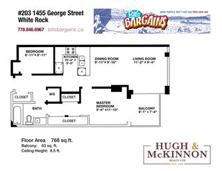 "Photo 39: 203 1455 GEORGE Street: White Rock Condo for sale in ""Avra"" (South Surrey White Rock)  : MLS®# R2510958"