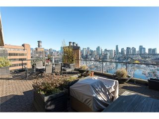 """Photo 5: 911 1450 PENNYFARTHING Drive in Vancouver: False Creek Condo for sale in """"HARBOUR COVE"""" (Vancouver West)  : MLS®# V1045664"""