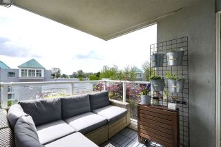 """Photo 7: 210 8430 JELLICOE Street in Vancouver: South Marine Condo for sale in """"BOARDWALK"""" (Vancouver East)  : MLS®# R2453487"""