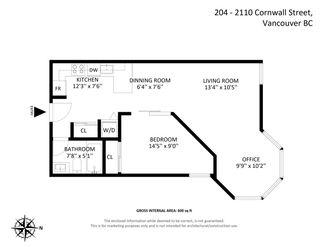 """Photo 21: 204 2110 CORNWALL Avenue in Vancouver: Kitsilano Condo for sale in """"SEAGATE VILLA"""" (Vancouver West)  : MLS®# R2587339"""