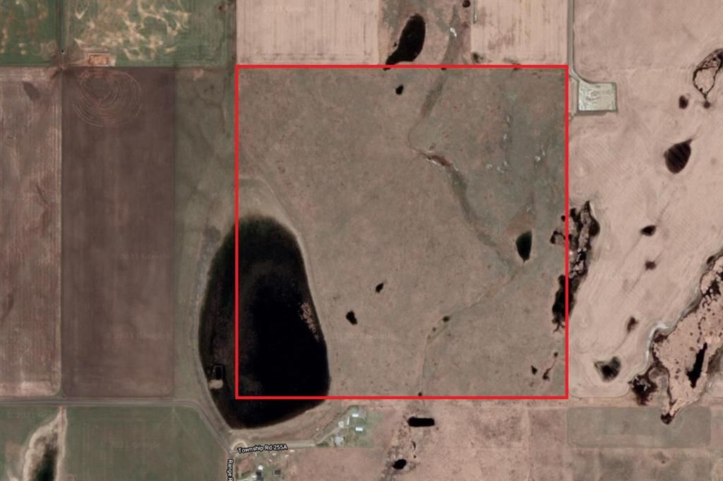 Main Photo: 160 Acres NE of Dealcour in Rural Rocky View County: Rural Rocky View MD Residential Land for sale : MLS®# A1142314