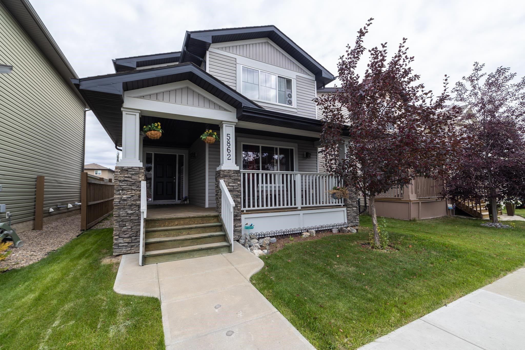 Main Photo: 5862 168A Avenue in Edmonton: Zone 03 House for sale : MLS®# E4262804