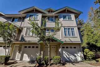 "Photo 1: 114 12711 64 Avenue in Surrey: West Newton Townhouse for sale in ""PALETTE ON THE PARK"" : MLS®# R2102037"