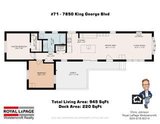 "Photo 28: 71 7850 KING GEORGE Boulevard in Surrey: East Newton Manufactured Home for sale in ""Bear Creek Glen"" : MLS®# R2614023"