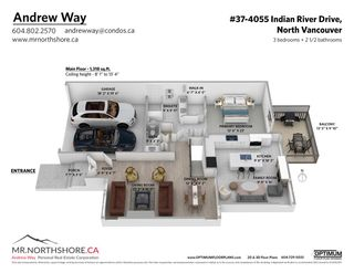 """Photo 36: 37 4055 INDIAN RIVER Drive in North Vancouver: Indian River Townhouse for sale in """"THE WINCHESTER"""" : MLS®# R2572270"""