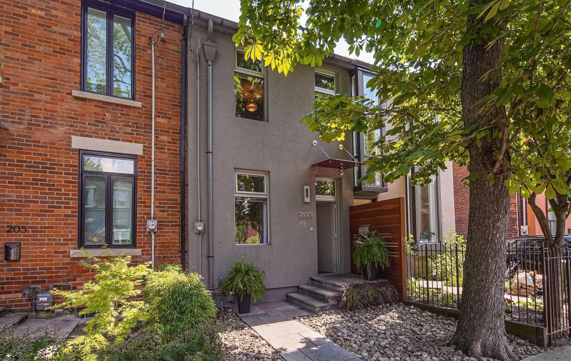 Main Photo: 203 Hamilton Street in Toronto: South Riverdale House (3-Storey) for sale (Toronto E01)  : MLS®# E4922245