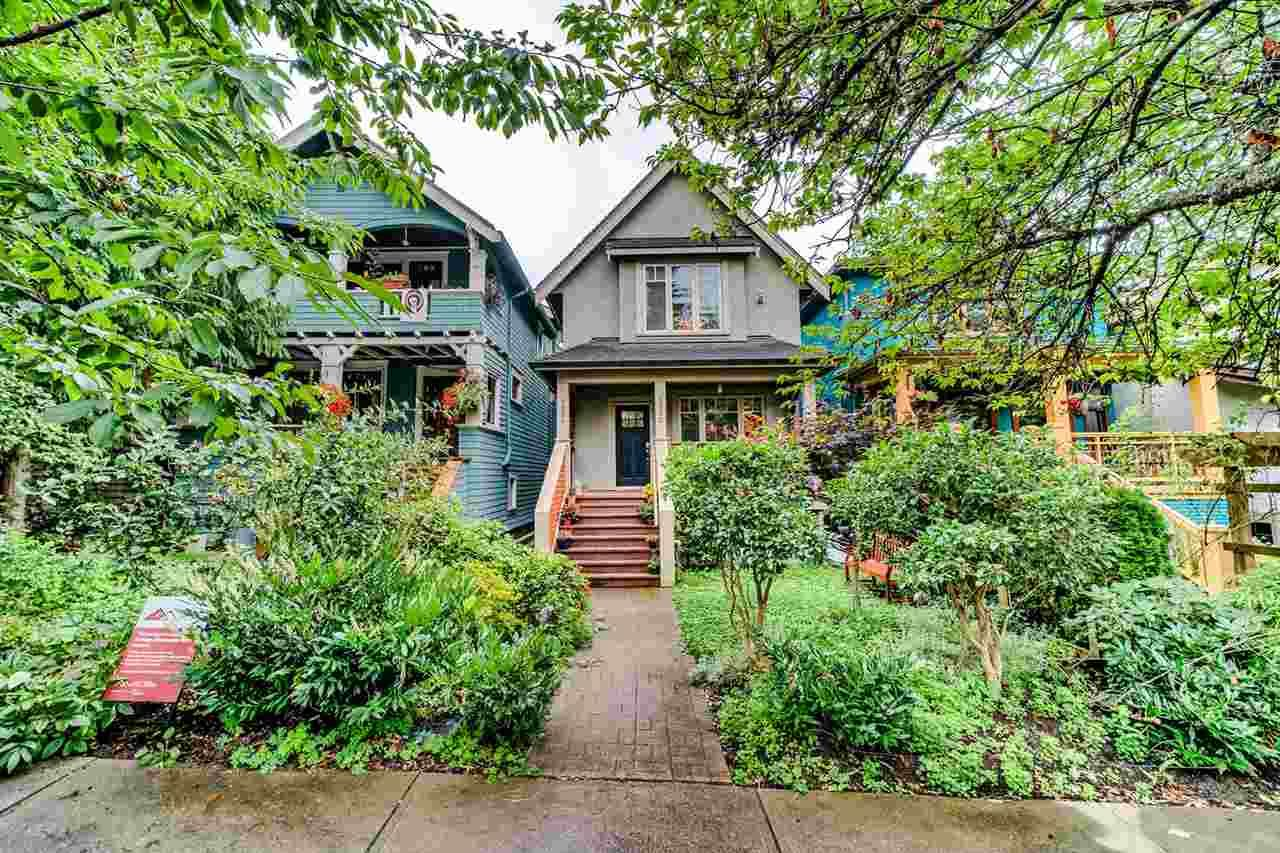 Main Photo: 1936 CHARLES Street in Vancouver: Grandview Woodland 1/2 Duplex for sale (Vancouver East)  : MLS®# R2490578
