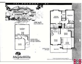 """Photo 4: 10 8590 SUNRISE Drive in Chilliwack: Chilliwack Mountain Townhouse for sale in """"MAPLE HILLS"""" : MLS®# H2702548"""
