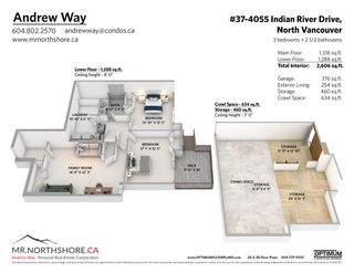 """Photo 37: 37 4055 INDIAN RIVER Drive in North Vancouver: Indian River Townhouse for sale in """"THE WINCHESTER"""" : MLS®# R2572270"""