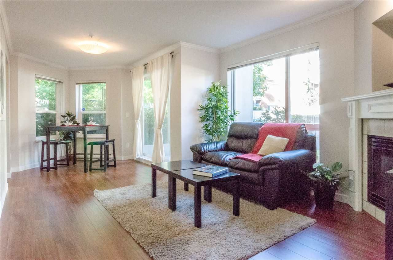 """Main Photo: 104 2437 WELCHER Avenue in Port Coquitlam: Central Pt Coquitlam Condo for sale in """"STIRLING CLASSIC"""" : MLS®# R2115736"""