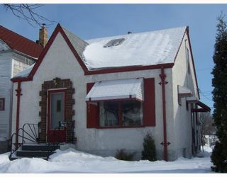 Photo 1: 469 PARR Street in WINNIPEG: North End Residential for sale (North West Winnipeg)  : MLS®# 2903324