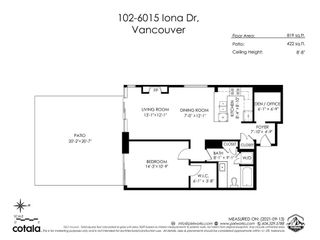 """Photo 24: 102 6015 IONA Drive in Vancouver: University VW Condo for sale in """"Chancellor House"""" (Vancouver West)  : MLS®# R2618158"""