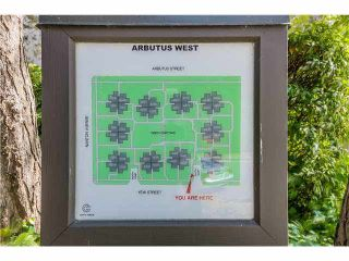 """Photo 20: 4451 ARBUTUS Street in Vancouver: Quilchena Townhouse for sale in """"Arbutus West"""" (Vancouver West)  : MLS®# V1135323"""
