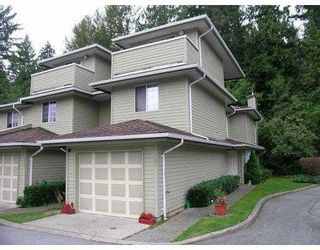 "Photo 1: 107 1386 LINCOLN Drive in Port_Coquitlam: Oxford Heights Townhouse for sale in ""MOUNTAIN PARK VILLAGE"" (Port Coquitlam)  : MLS®# V730209"
