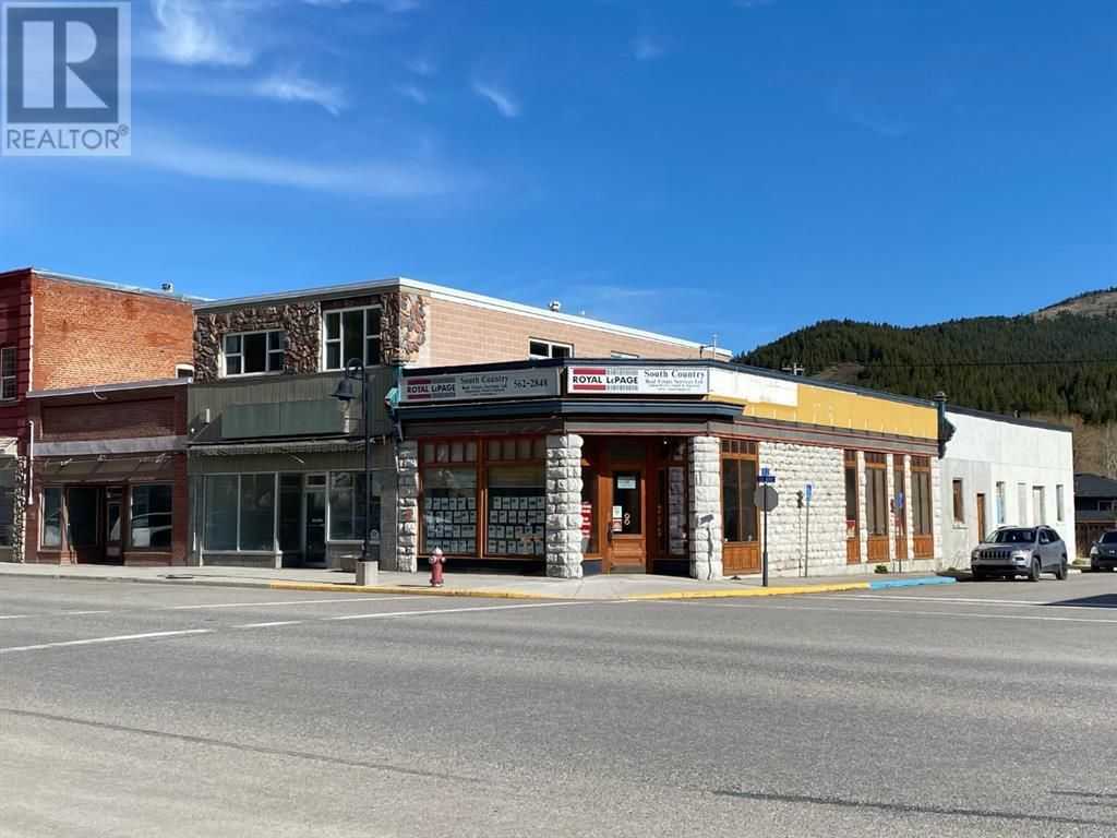 Main Photo: 13055 20 Avenue in Blairmore: Office for sale : MLS®# A1102349
