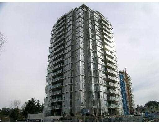 Main Photo: # 804 555 DELESTRE AV in Coquitlam: Condo for sale
