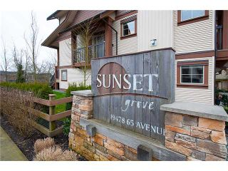 """Photo 20: 38 19478 65TH Avenue in Surrey: Clayton Condo for sale in """"Sunset Grove"""" (Cloverdale)  : MLS®# F1406717"""