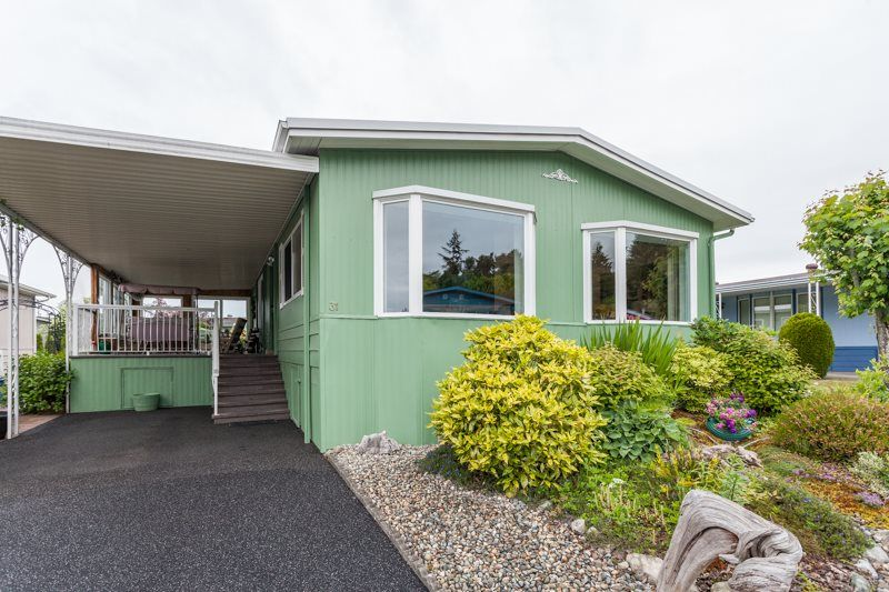 """Main Photo: 31 1640 162 Street in Surrey: King George Corridor Manufactured Home for sale in """"CHERRY BROOK PARK"""" (South Surrey White Rock)  : MLS®# R2070521"""