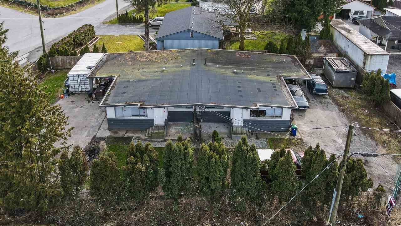 Main Photo: 21896 LOUGHEED Highway in Maple Ridge: West Central Duplex for sale : MLS®# R2541847