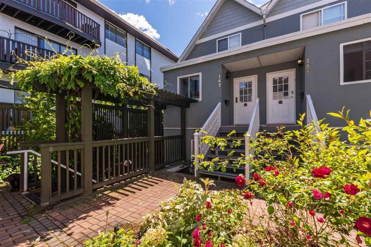 Main Photo: 161 E 4TH Street in North Vancouver: Lower Lonsdale Townhouse for sale : MLS®# R2587641