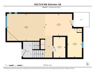 Photo 40: 4352 76 Street in Edmonton: Zone 29 Townhouse for sale : MLS®# E4253529