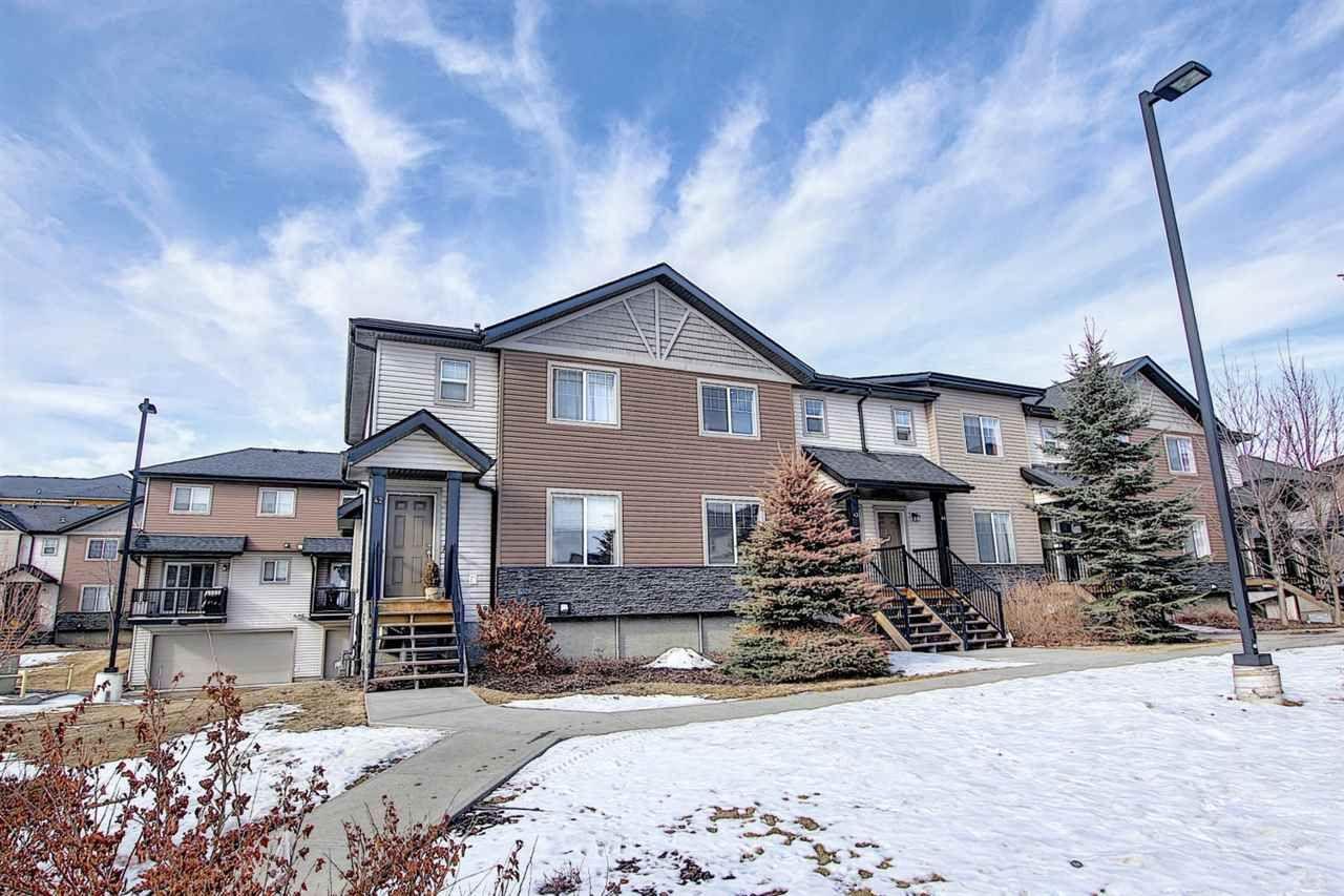 Main Photo: 43 12004 22 Avenue in Edmonton: Zone 55 Townhouse for sale : MLS®# E4230974