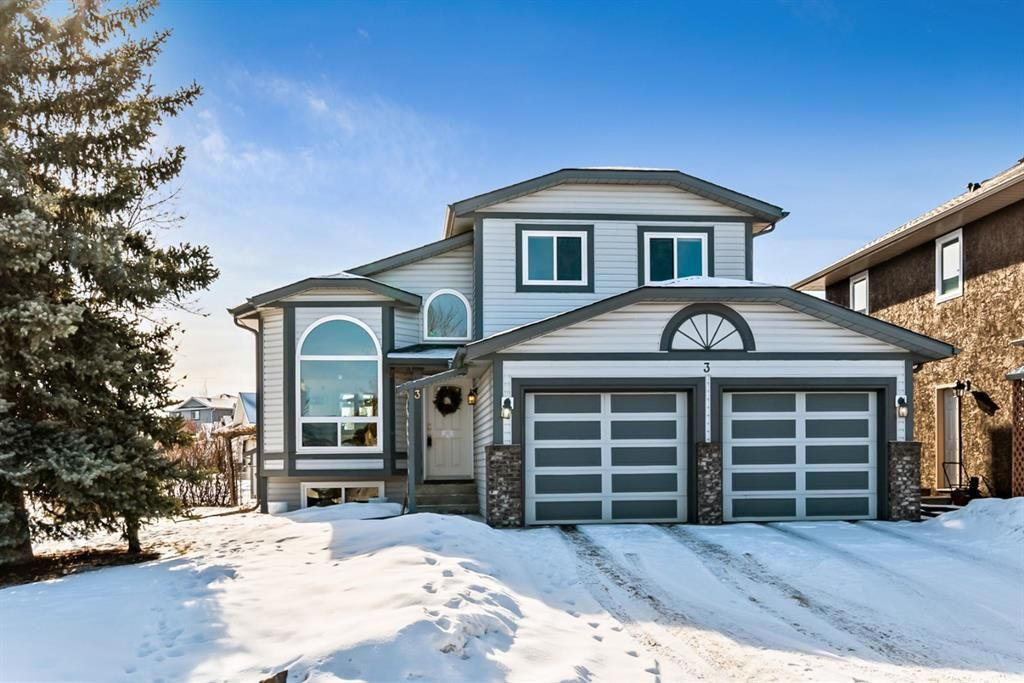 Main Photo: 3 Cimarron Way: Okotoks Detached for sale : MLS®# A1072258
