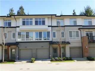 "Photo 1: 57 1125 KENSAL Place in Coquitlam: New Horizons Townhouse for sale in ""KENSAL WALK"" : MLS®# V1106910"