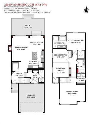 Photo 2: 220 Evansborough Way NW in Calgary: Evanston Detached for sale : MLS®# A1138489