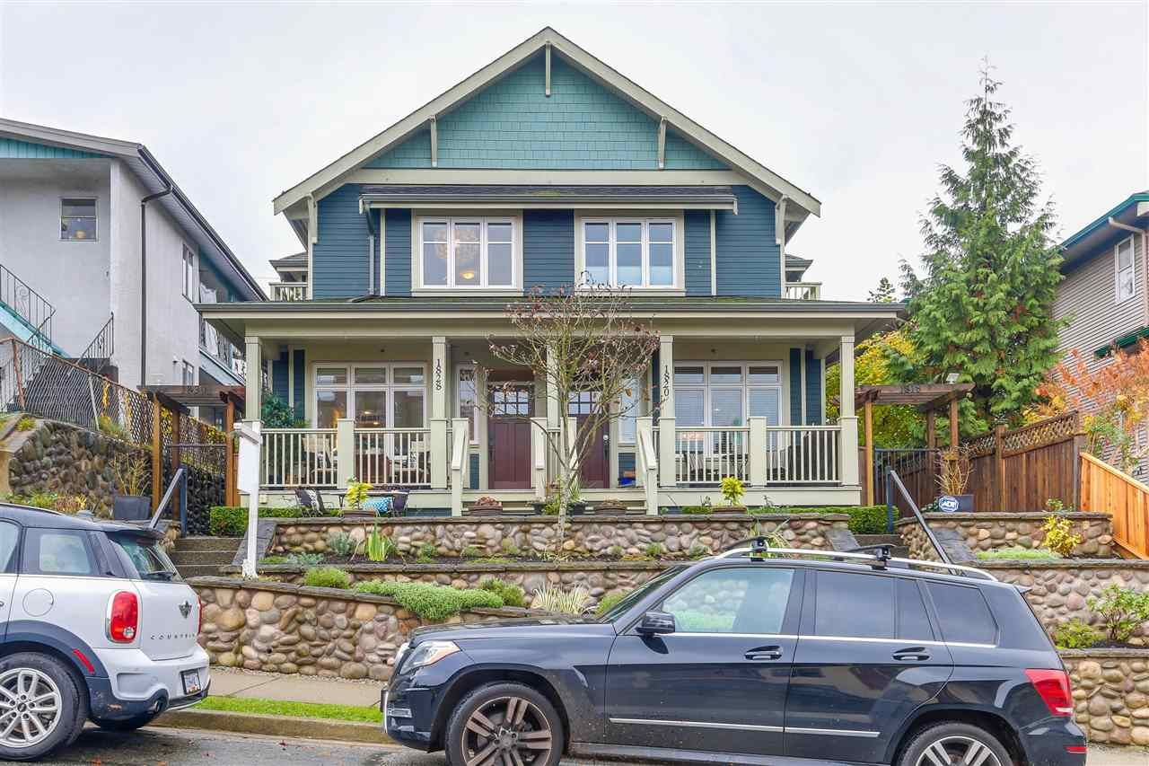 Main Photo: 1828 E GEORGIA STREET in Vancouver: Hastings Townhouse for sale (Vancouver East)  : MLS®# R2223833