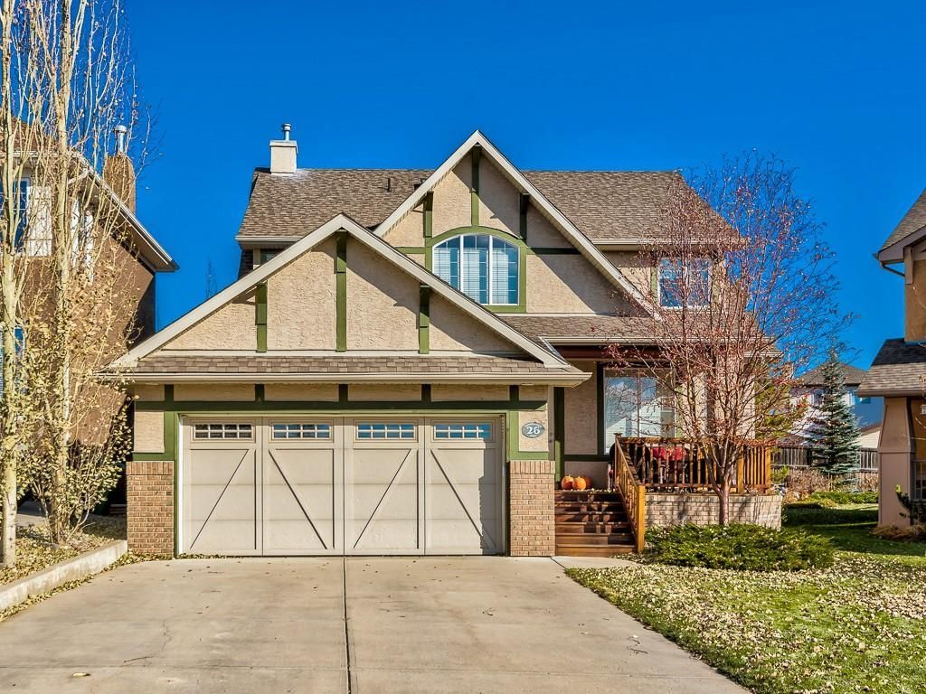 Main Photo: 26 TUSSLEWOOD View NW in Calgary: Tuscany Detached for sale : MLS®# C4296566