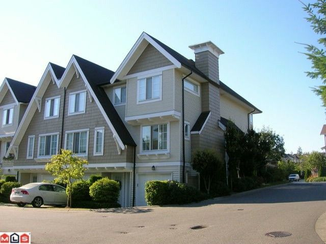"Main Photo: 1 20540 66TH Avenue in Langley: Willoughby Heights Townhouse for sale in ""Amberleigh"" : MLS®# F1019787"