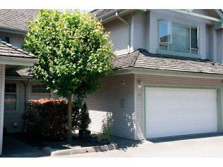 "Photo 1: 11 1255 RIVERSIDE Drive in Port Coquitlam: Riverwood Townhouse for sale in ""RIVERWOOD GREEN"" : MLS®# V896489"