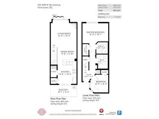 """Photo 23: 318 678 W 7TH Avenue in Vancouver: Fairview VW Townhouse for sale in """"LIBERTE"""" (Vancouver West)  : MLS®# R2575214"""