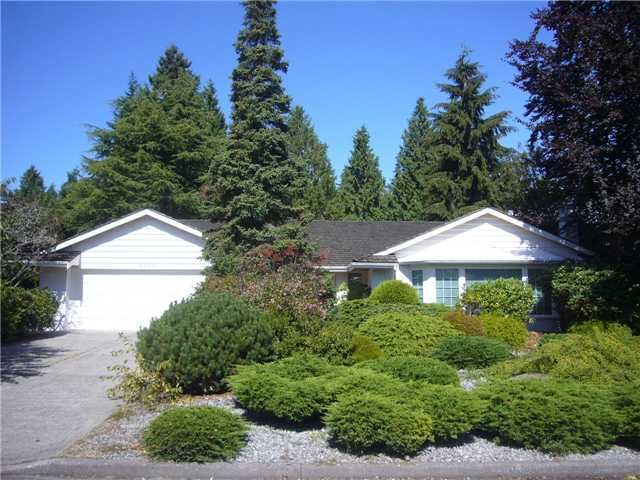 """Main Photo: 4209 YUCULTA CR in Vancouver: University VW House for sale in """"SALISH PARK"""" (Vancouver West)  : MLS®# V912144"""