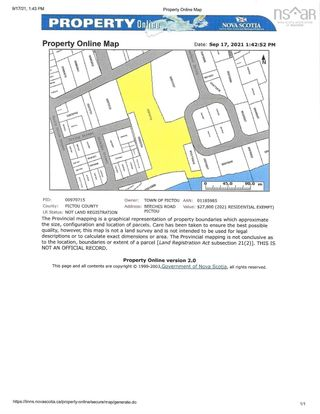 Photo 2: lot Beeches Road -Old Hospital Hill Road in Pictou: 107-Trenton,Westville,Pictou Vacant Land for sale (Northern Region)  : MLS®# 202123957