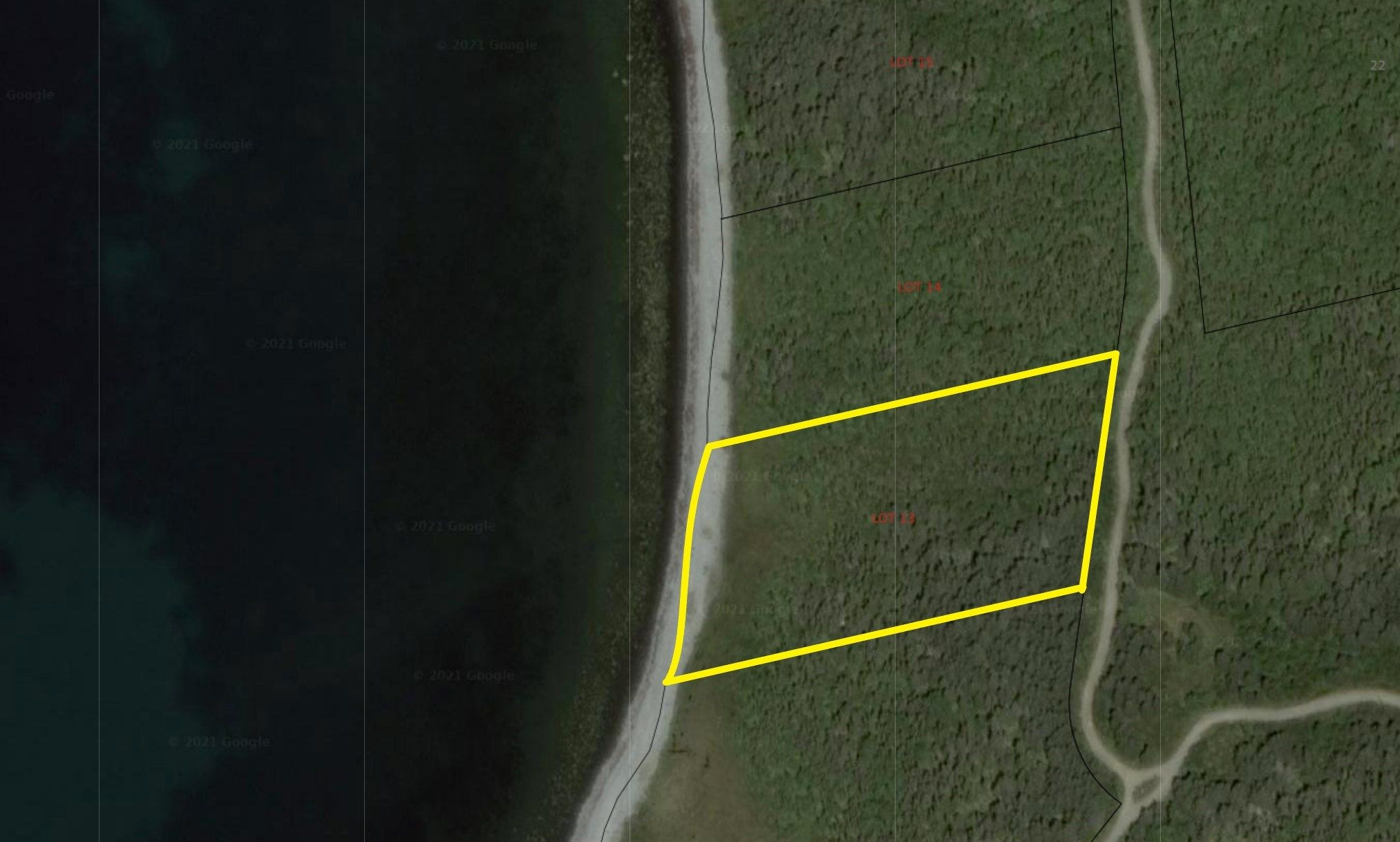 Main Photo: Lot 13 Youngs Road in East Green Harbour: 407-Shelburne County Vacant Land for sale (South Shore)  : MLS®# 202105634