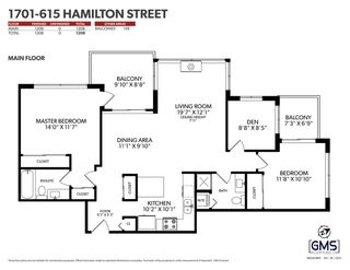 """Photo 31: 1701 615 HAMILTON Street in New Westminster: Uptown NW Condo for sale in """"THE UPTOWN"""" : MLS®# R2587505"""