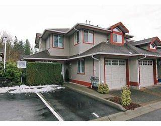 "Photo 1: 22740 116TH Ave in Maple Ridge: East Central Townhouse for sale in ""FRASER GLEN"" : MLS®# V623520"