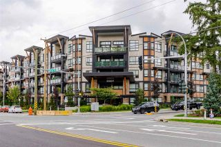 """Photo 1: 306 20829 77A Avenue in Langley: Willoughby Heights Condo for sale in """"The Wex"""" : MLS®# R2509468"""