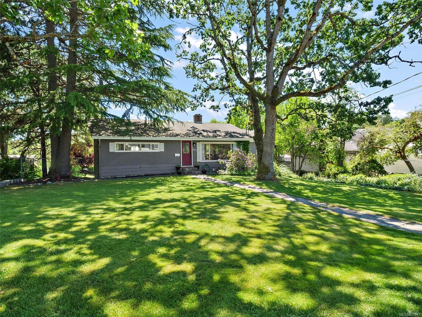 Main Photo: 663 Kent Rd in : SW Tillicum House for sale (Saanich West)  : MLS®# 878931