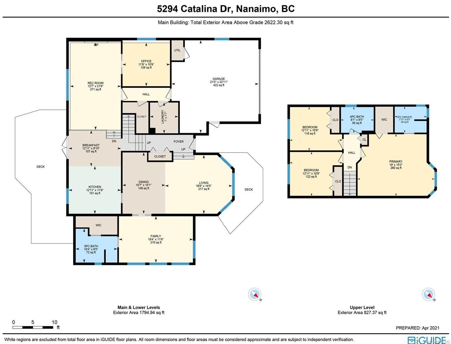 Photo 2: Photos: 5294 Catalina Dr in : Na North Nanaimo House for sale (Nanaimo)  : MLS®# 873342