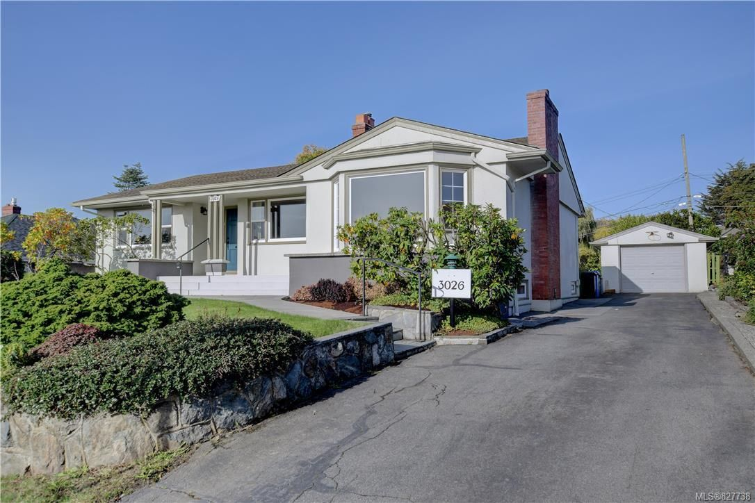 Classic 1949 architecture. The home is elegant and refined with a generous floor plan designed to take in the fantastic views! Notice the long driveway and garage for extra storage or a workshop.
