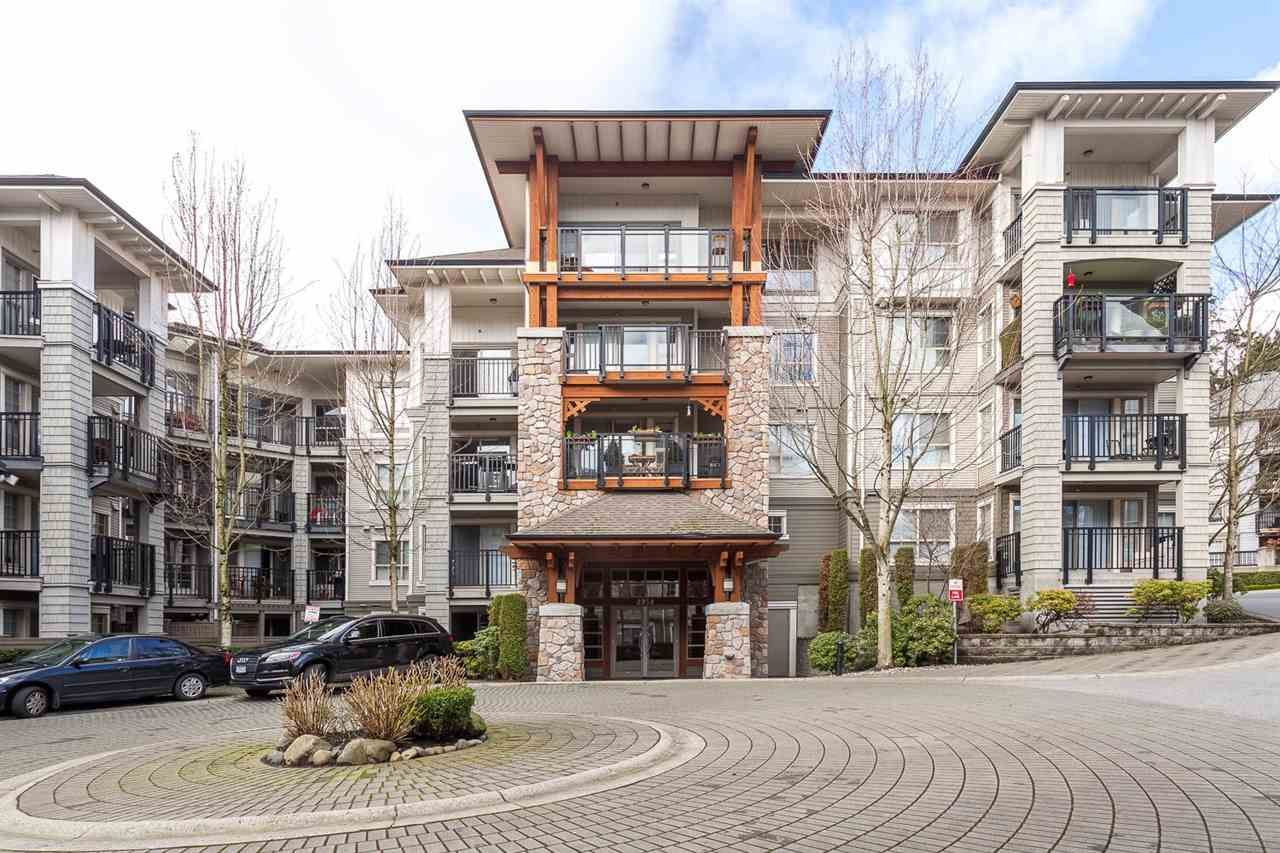 """Main Photo: 405 2958 SILVER SPRINGS Boulevard in Coquitlam: Westwood Plateau Condo for sale in """"TAMARISK"""" : MLS®# R2442052"""