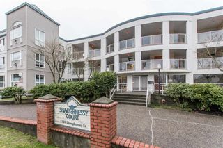 "Photo 1: 304 2339 SHAUGHNESSY Street in Port Coquitlam: Central Pt Coquitlam Condo for sale in ""Shaughnessy Court"" : MLS®# R2328535"